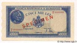5000 Lei ROUMANIE  1944 P.056s NEUF