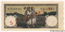 100000 Lei ROUMANIE  1945 P.058s NEUF