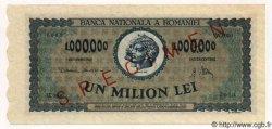 1000000 Lei ROUMANIE  1947 P.060s pr.NEUF