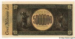 5 000 000 Lei ROUMANIE  1947 P.061a SPL