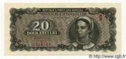 20 Lei ROUMANIE  1950 P.084a NEUF