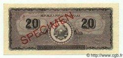 20 Lei ROUMANIE  1950 P.084s pr.NEUF