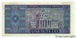 100 Lei ROUMANIE  1966 P.097 TTB+
