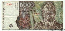 500 Lei ROUMANIE  1991 P.098b TTB