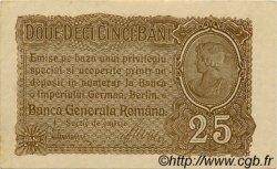 25 Bani ROUMANIE  1917 P.M01 SPL