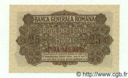 25 Bani ROUMANIE  1917 P.M01 NEUF