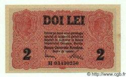 2 Lei ROUMANIE  1917 P.M04 SPL