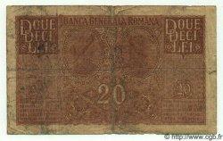 20 Lei ROUMANIE  1917 P.M06 B à TB