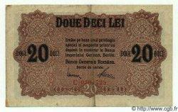 20 Lei ROUMANIE  1917 P.M06 TTB+