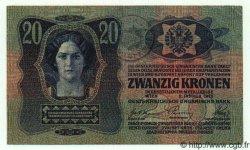 20 Kronen ROUMANIE  1920 P.R04 pr.SUP