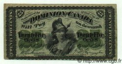 25 Cents CANADA  1870 P.008a TB+