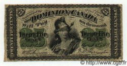 25 Cents CANADA  1870 P.008c TB