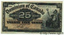 25 Cents CANADA  1900 P.009b TTB+