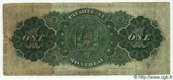 1 Dollar CANADA  1878 P.018a TTB