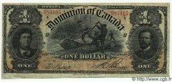 1 Dollar CANADA  1898 P.024Ab TTB