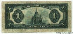1 Dollar CANADA  1923 P.033c TB