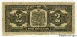 2 Dollars CANADA  1923 P.034b TB+