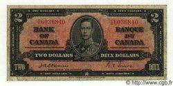 2 Dollars CANADA  1937 P.059a TB