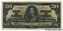 20 Dollars CANADA  1937 P.062c TTB