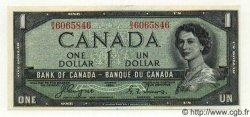 1 Dollar CANADA  1954 P.066a SPL