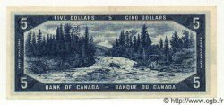 5 Dollars CANADA  1954 P.068a SPL