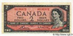 2 Dollars CANADA  1954 P.076c TTB+
