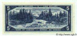 5 Dollars CANADA  1954 P.077c NEUF