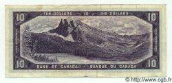 10 Dollars CANADA  1954 P.079a TTB