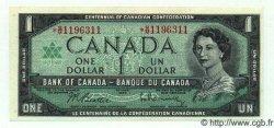 1 Dollar CANADA  1967 P.084b NEUF