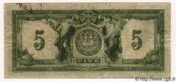 5 Dollars CANADA  1917 PS.0965Ac TB
