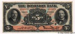 5 Dollars CANADA  1931 PS.1028 TTB+