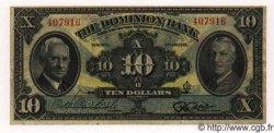 10 Dollars CANADA  1938 PS.1036 TTB+