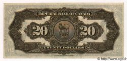 20 Dollars CANADA  1923 PS.1144 SUP
