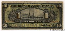 10 Dollars CANADA  1913 PS.1379 B