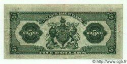 5 Dollars CANADA  1943 PS.1394 TTB