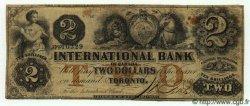 2 Dollars CANADA  1858 PS.1824var TB+
