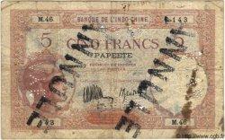 5 Francs TAHITI  1936 P.11b B