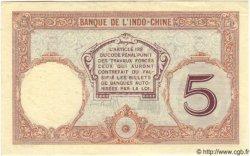 5 Francs TAHITI  1936 P.11b SUP