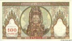 100 Francs TAHITI  1960 P.14cs NEUF