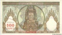 100 Francs TAHITI  1965 P.14d SPL