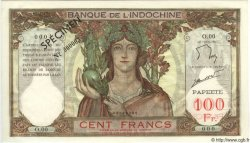 100 Francs TAHITI  1965 P.14ds pr.NEUF