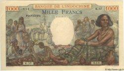 1000 Francs TAHITI  1957 P.15b pr.NEUF