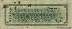100 Francs TAHITI  1943 P.17a B+