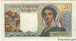 20 Francs TAHITI  1951 P.21a pr.TTB