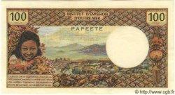 100 Francs TAHITI  1968 P.23 pr.NEUF