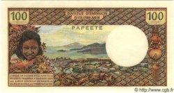 100 Francs (avec République Francaise) TAHITI  1972 P.24b NEUF