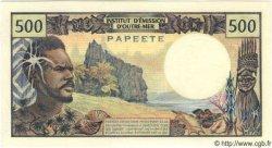 500 Francs TAHITI  1970 P.25 NEUF