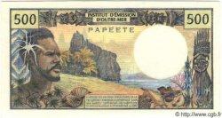 500 Francs TAHITI  1984 P.25 NEUF
