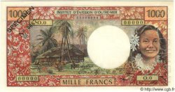 1000 Francs TAHITI  1968 P.26s pr.NEUF