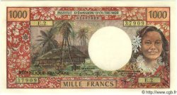 1000 Francs TAHITI  1971 P.27 NEUF